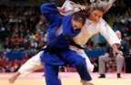 Telma Monteiro durante o combate