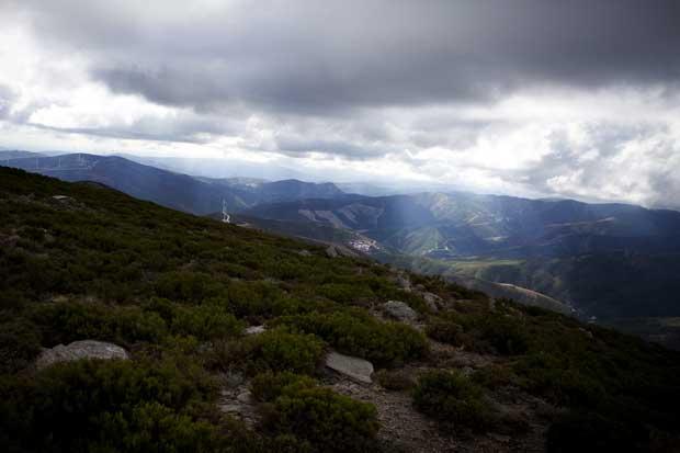 Vista do concelho de Pampilhosa a partir do Pico de Cebola