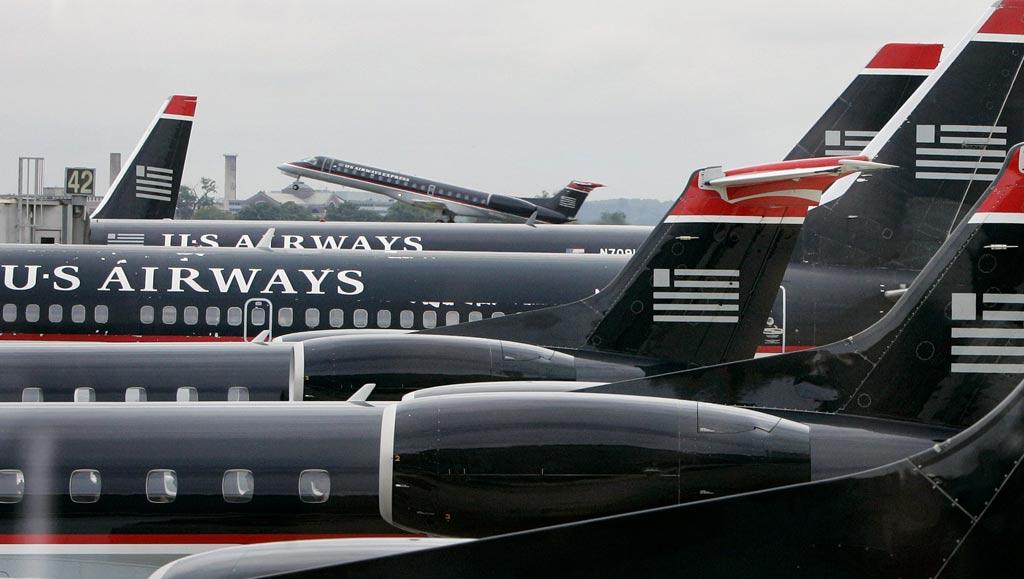 Todos os aviões eram operados pela companhia US Airways
