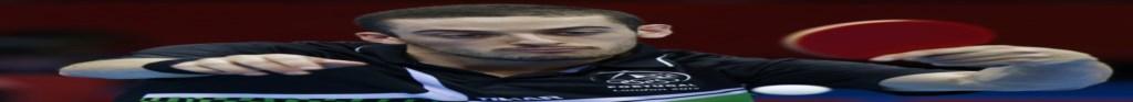 Marcos Freitas derrotou Paul Drinkhall no primeiro jogo desta eliminatória