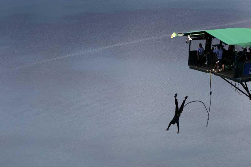 Nova Zelândia, 14.09.2011 | Bungee-jumpingm em Queenstown.