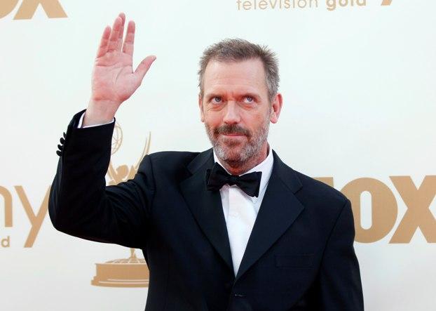 O protagonista da série House, Hugh Laurie