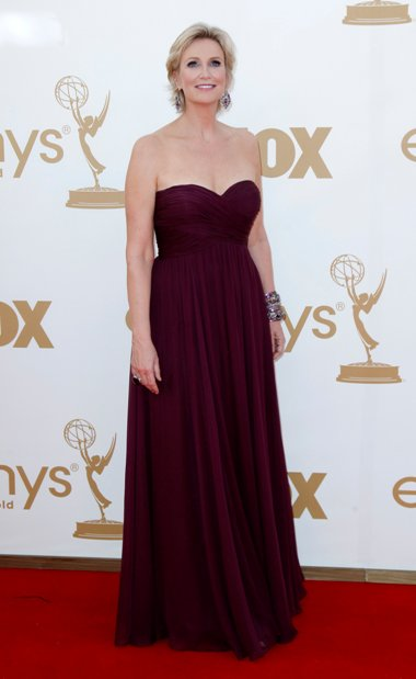 A apresentadora dos Emmy Awards, Jane Lynch