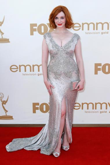 A actriz Christina Hendricks da série Mad Men