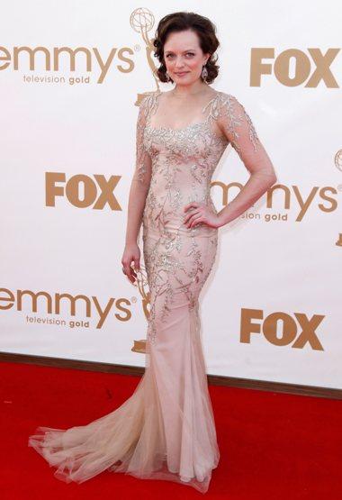A actriz Elisabeth Moss, da série de televisão Mad Men