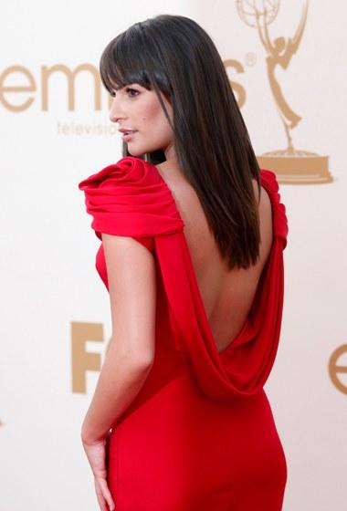 A protagonista da série Glee, Lea Michele