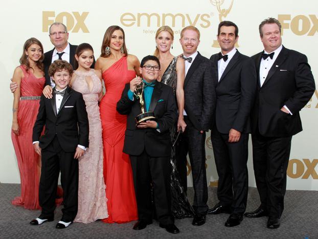 Os protagonistas da série que arrecadou cinco Emmys, Modern Family