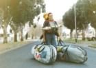 1990, África do Sul: ainda na universidade, a primeira viagem sozinho, com as poupanças. Pensei que nunca mais voltaria a viajar, que nunca mais teria dinheiro e que Portugal nunca teria lojas de surf — voltei carregado como um burro:cinco pranchas, dois fatos térmicos, etc…