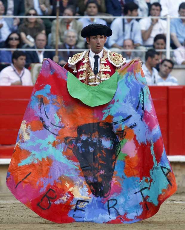O toureiro Serafin Martin.