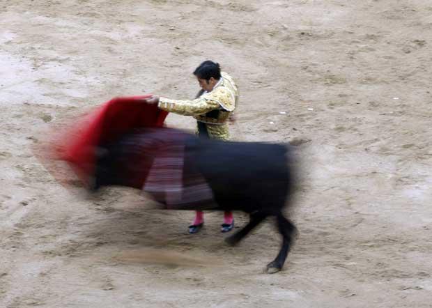 O toureiro Juan Mora.