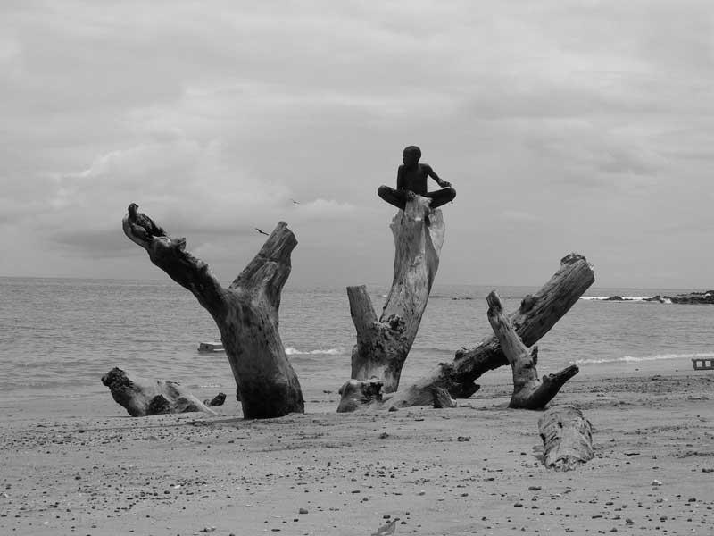 S. Tomé e Príncipe, Praia das Conchas - por Ana Santos