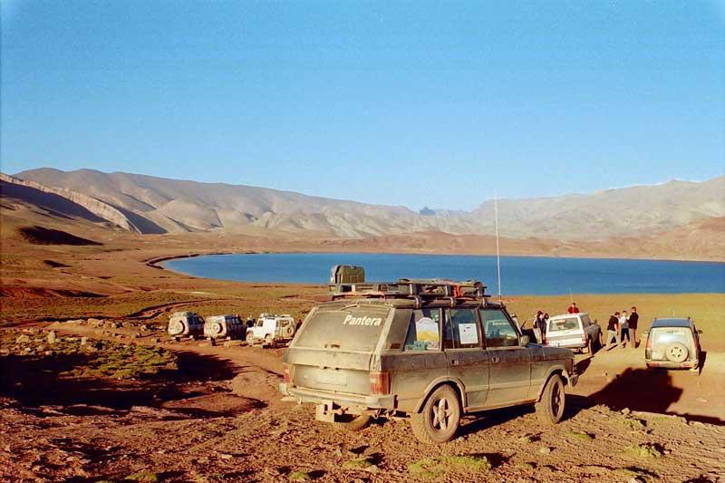 Junto ao Lago Iseli, no Alto Atlas, em Marrocos, a 22 de Abril de 2008 - por Luís Matos