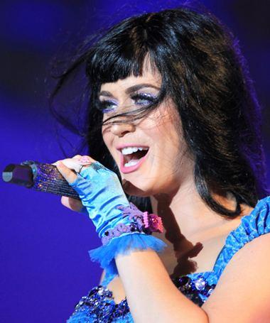 Katy Perry actuou noprimeiro dia dofestival