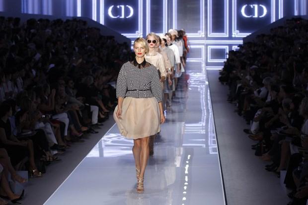 O desfile de hoje da Dior, na Semana de Moda de Paris