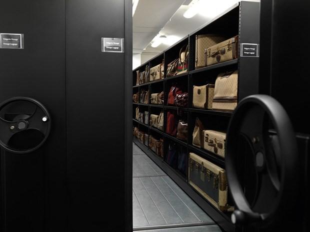 Um vislumbre do arquivo histórico