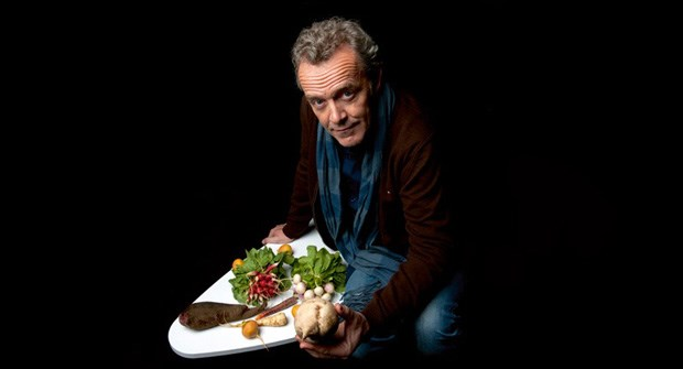 O chef Alain Passard