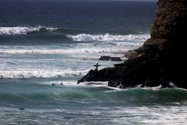 Praia da Ribeira d'Ilhas.