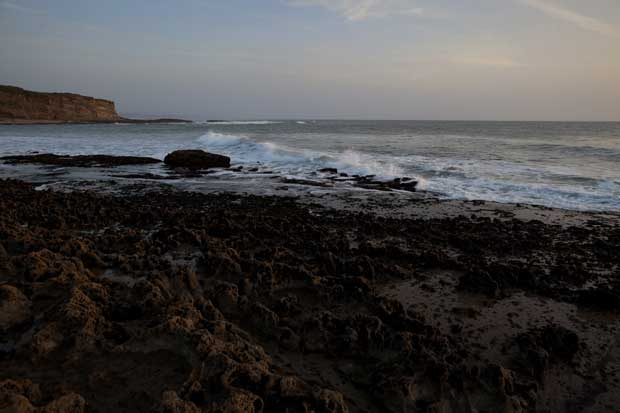 Praia dos Coxos.