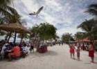 O turquesa impossível das Bahamas