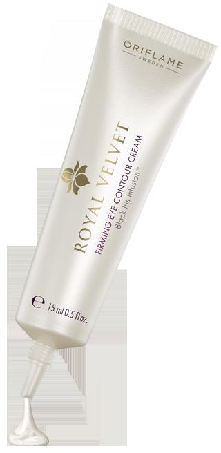 Creme reafirmante para os olhos. Utiliza as propriedades anti-envelhecimento da flor de íris preta, que favorece a firmeza da pele através da estimulação e produção de colágeneo e elastina.