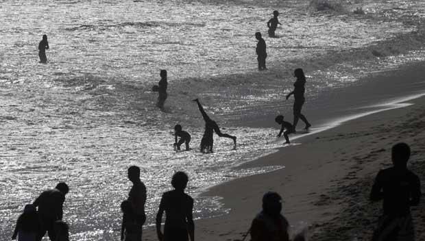 Brasil, Rio, 23.10.2011 | Mais um dia de praia em Ipanema.