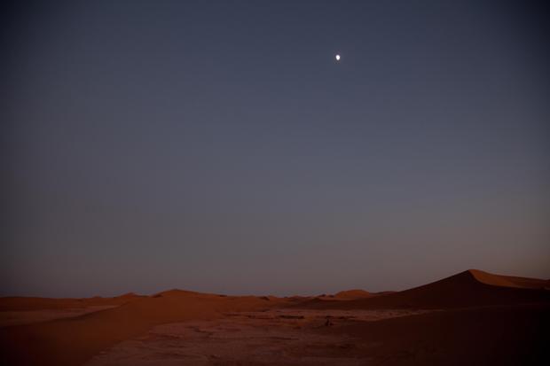 O verdadeiro deserto.