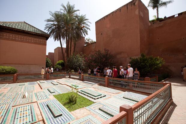 Complexo dos túmulos dos reis saadianos.