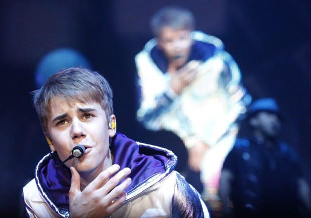 O cantor Justin Bieber, de 17 anos, é um dos grandes ídolos dos tweenies