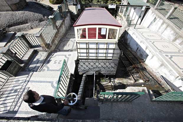 É o funicular mais antigo do mundo em funcionamento.