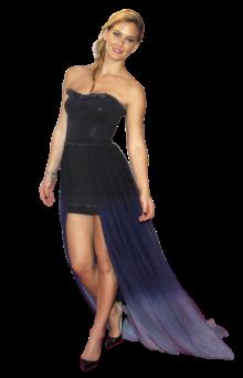 A modelo Bar Refaeli apresentou, juntamente com Irina Shayk, um dos prémios da noite, entregue a Lady Gaga. As duas modelos usaram vestidos Replay, uma das marcas que patrocinou o evento. O de Bar Refaeli, feito exclusivamente para a modelo, não foi uma escolha feliz. Apesar das suas pernas fantásticas estarem à mostra, o mini vestido em denim tinha na cintura uma espécie de cauda em tons degradeé, que não combinava com o vestido. Foi uma escolha pouco feliz para Bar Refaeli que na última edição do Festival de Cannes se apresentou impecável e deslumbrante.