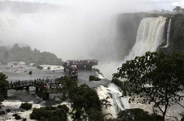 Cataratas de Iguaçu.
