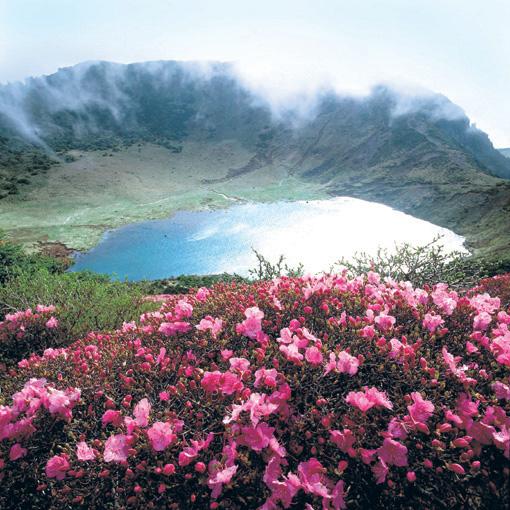 Ilha vulcânica de Jeju (Coreia do Sul).