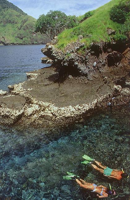 Parque Nacional Komodo (Indonésia).