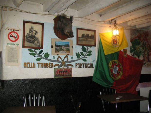 Zimbreira, Mação, Café Portela.