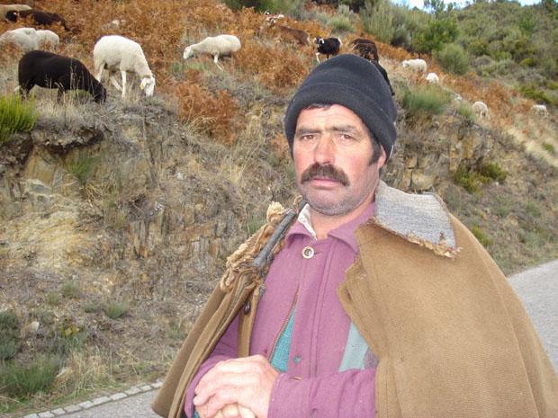 Serra da Estrela, Manteigas, pastor Balote.