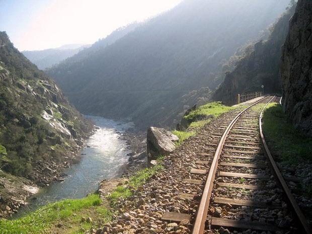 Trecho da Linha do Tua.
