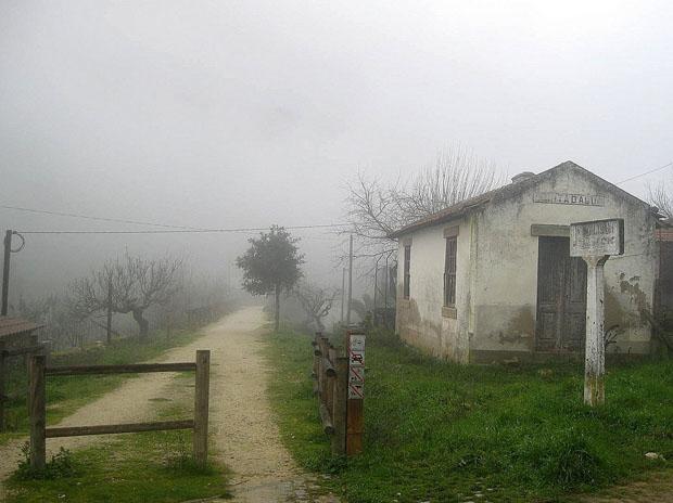 Ecopista na antiga linha do Sabor perto de Torre de Moncorvo.