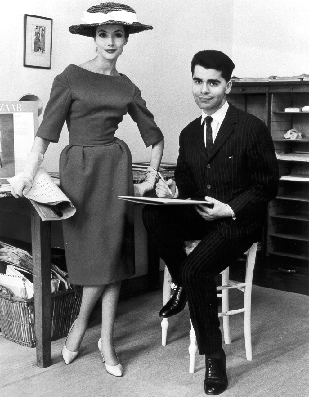 """""""The Young Karl Lagerfeld"""", Paris, 1959"""