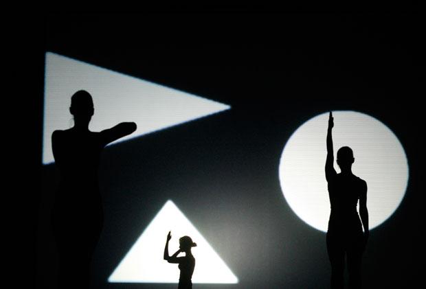 Hungria, 22.11.2011 | Ensaio de uma peça de dança em Budapeste (