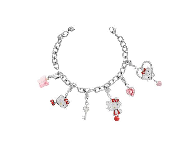 Pulseira com pendentes|Swarovski|€33 (pulseira) + pendentes à parte