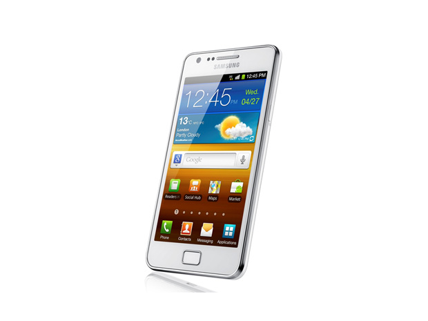 Telemóvel Galaxy SII branco|Samsung|€649