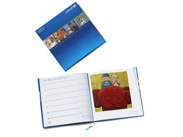 Agenda de arte 2012|Unicef|€20