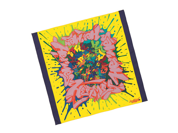 "Lenço de seda ""Graff""|Hermès|€292"