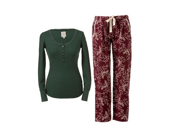 Camisola de pijama|Primark|€6|Calças de pijama|Primark|€7
