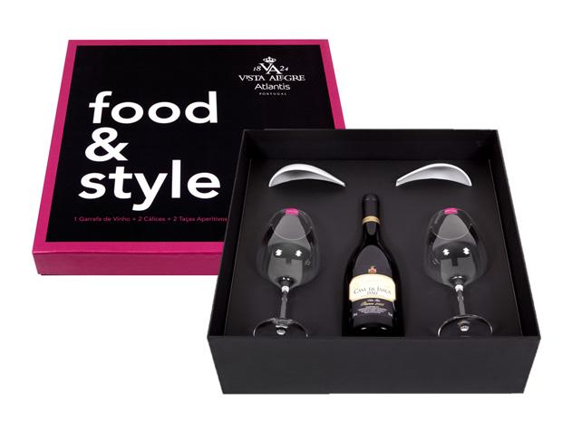 Conjunto Food & Style de vinho|Vista Alegre/Atlantis|€86,50