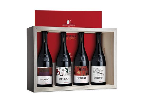 Conjunto de vinho Esporão Reserva 2002|Esporão|p.s.c.