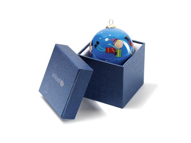 Bola de Natal|Unicef|€12