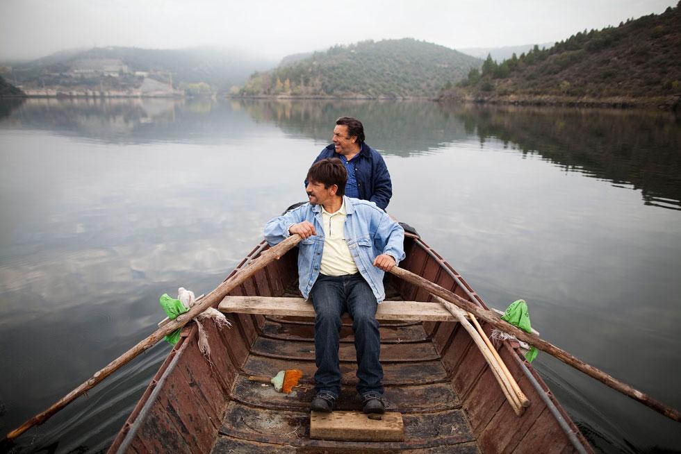Miranda do Douro, Bemposta. (o pescador conhecido por Escalico, que entrou no filme