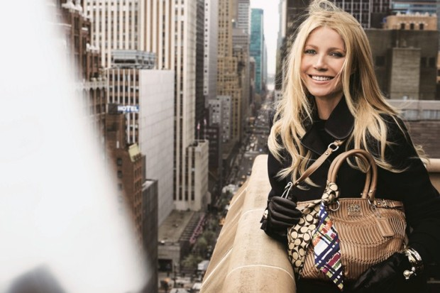 Gwyneth Paltrow é a embaixadora da Coach