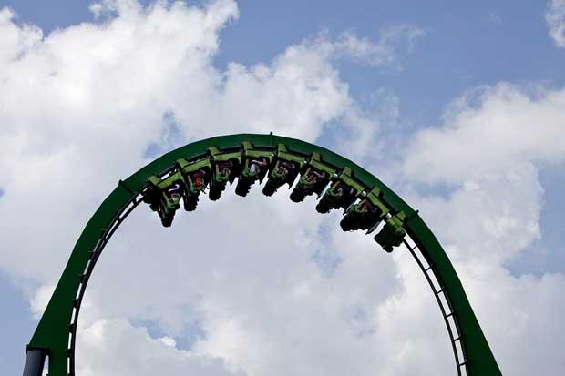 Universal, montanha-russa do Hulk